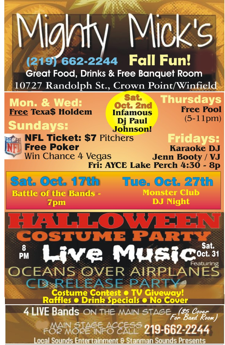 Halloween Party at Mighty Mick's Bar and Grille