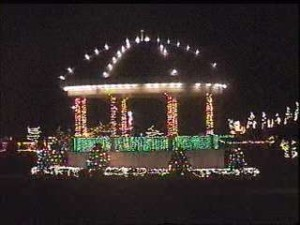The Official Lighting of the Festival of Lights is truly spectacular